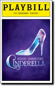 Cinderella is Ever's favorite musical! I choose it because its Ever's favorite musical and because its a really fun musical to do! Ever hopes to be the lead in the school musical one day and the musical is Cinderella Broadway Plays, Broadway Theatre, Musical Theatre, Broadway Shows, Broadway Nyc, Rodgers And Hammerstein's Cinderella, Cinderella Broadway, Cinderella 2016, Cinderella Carriage