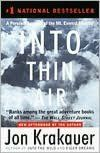 Entering Eighth Grade, Book of Choice Option: Into Thin Air by Jon Krakauer. Williston Northampton, Middle School English Department