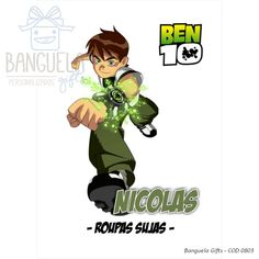 Ben 10, Fictional Characters, Art For Toddlers, Fantasy Characters