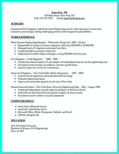 there are so many civil engineering resume samples you can download one of good and