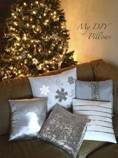 I'm a big sucker for throw pillows to begin with but when you add embellishments on them and I get all out obsessed. Problem is that with most of the pillows I like, they cost a fortune and t…