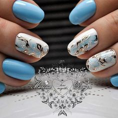 Beautiful nail art designs that are just too cute to resist. It's time to try out something new with your nail art. Fabulous Nails, Gorgeous Nails, Fancy Nails, Trendy Nails, Spring Nails, Summer Nails, Nagellack Trends, Manicure E Pedicure, Gel Nail Designs