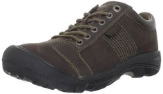 KEEN Men's Austin Casual Shoe,Chocolate M US. KEEN adds their distinctive stamp to this handsome and adventurous casual shoe. Item Dimensions: 88 - 900 - 500 - 1300 - hundredths-inches. Please note: The color called Black Olive is actually brown. Lace Up Shoes, Men's Shoes, Shoes Sneakers, Shoes Men, Lacoste Sneakers, Keen Shoes, Austin Shoes, Sneakers Fashion, Fashion Shoes