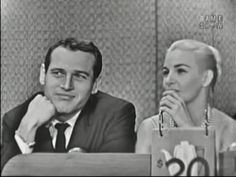 What's My Line? - Paul Newman & Joanne Woodward; Art Linkletter [panel] (Nov 8, 1959) - YouTube
