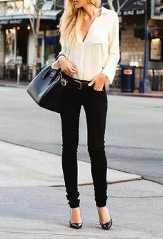 Great work and dinner outfit | Gloss Fashionista #black #simplicity