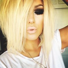 Absolutely gorgeous! Makeup and hair