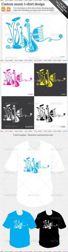 Custom Music T-shirt Design