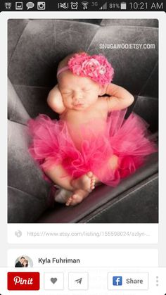 Hate tutus but this is so cute!!