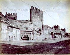 Foto storiche di Roma - Porta San Lorenzo  Anno: 1915/20