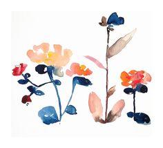 watercolor painting | Nouveau Boheme No. 14 | Ugallery Online Art Gallery