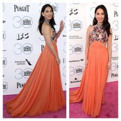 Olivia Munn at the 2015 Independent Spirit Awards in Santa Monica