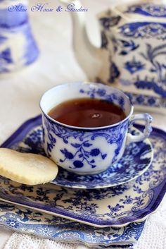 A Beautiful Book and Tea Time