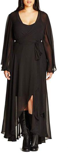 f9336264a6d0 City Chic 'Fleetwood' Maxi Dress (Plus Size) | Nordstrom