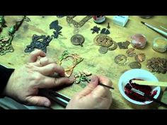 Using the Torch to Create Patina, Distressed Finishes, Embossing Metal (video)