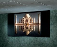 """Access MultiView Series V HiDef Grey 106"""" Electric Projection Screen"""