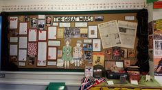 World Wars primary school display. Showcasing our learning throughout the topic and final work. Primary School Displays, Display Boards For School, Year 6, Boss, Gallery Wall, Learning, Frame, Picture Frame, Frames