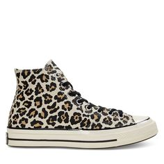 721f6f40a35ad ALT1 Cheetah Print, Converse Chuck Taylor, High Top Sneakers, Me Too Shoes