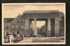 tolle AK Greifswald, Steinbecker Tor u. Straße