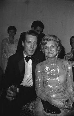 Halston and Betty Ford at Studio 54 in 1979