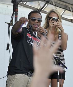 Ray Rice and Stacy Keibler at Preakness 2011!