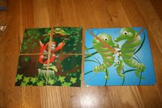 puzzles...maybe with scripture story pictures for church?