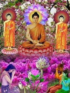 NAMO BUDDHAYA Buddha Bless U OM Mani Padme Hum From Lotus CHEE Choong