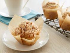 Eggnog Muffins - QueRicaVida.com