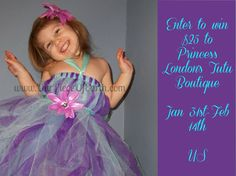 Feel the Love from Princess London's Tutu Boutique {Giveaway} Read more at http://www.ourpieceofearth.com/feel-love-princess-londons-tutu-boutique-giveaway/#wxRvCX78uyiLuwKy.99
