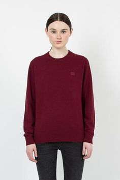 Nalon Burgundy Face Jumper