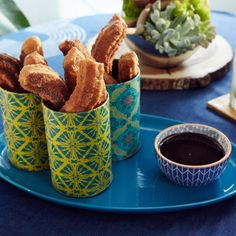 Easy Churros from Food Network