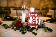 Ivory Linen, Navy Napkin P. Twinkle Lights, Twinkle Twinkle, Nicole Ryan, Tree Lighting, Napkin, Wedding Venues, Reception, Ivory, Table Decorations
