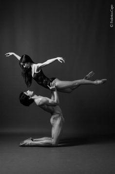 © Federica Capo. Claudia D'Antonio and Stanislao Capissi, Teatro di San Carlo, Naples, Italy