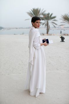 at the Chanel Resort 2015 show in Dubai