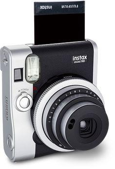 Fuji Instax Mini 90 Brings Retro Styling to Instant Film