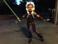 Cool Star Wars Clone Wars Ahsoka Tano Costume... Coolest Halloween Costume Contest