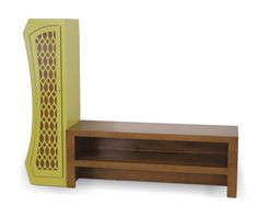 """Stacked Media Console - Fits up to a 56"""" wide television.  Custom sizing available."""