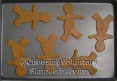 Making Gingerbread Boys