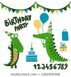 Azindianlany portfóliója a Shutterstock alatt Crocodile, Birthday, Birthdays, Crocodiles, Birth Day