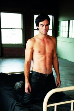Soo. If we could just have a world full of Ian Somerhalders.. I think the world would be a better place.