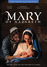 Mary of Nazareth is an epic motion picture on the life of Mary, mother of Christ, from her childhood through the Resurrection of Jesus. Shot in High Definition, it was filmed in Europe with outstanding cinematography, a strong cast, and a majestic music score. Actress Alissa Jung gives a beautiful, compelling and inspired portrayal of Mary.