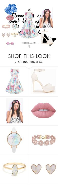 """""""#37"""" by deniseromero20 on Polyvore featuring moda, Nly Shoes, Lime Crime, BaubleBar y New Look"""