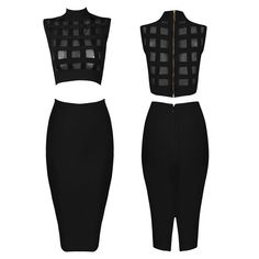 Find More Women's Sets Information about 2016 Black Turtleneck Sleeveless Sheer Mesh Bandage Tops And Skirts Sexy Bodycon 2 Piece Set Women crop top and skirt set  60530,High Quality skirt one piece swimsuits,China skirt pant Suppliers, Cheap tops for skirts from Queen's Luck on Aliexpress.com