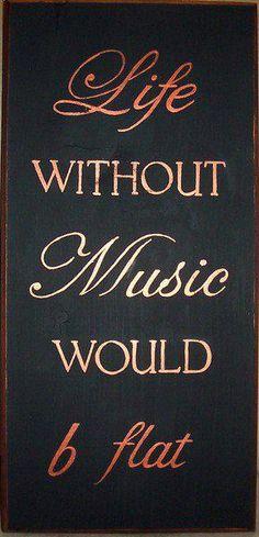 We need music!