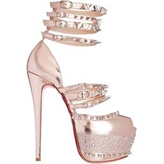 Shoe Game: Isolde by Christian Louboutin � ToughTalkerz ? liked on Polyvore  featuring shoes,