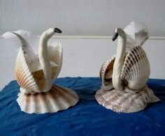 How to Use Seashells in Your Craft Projects - Life ideas Seashell Painting, Seashell Art, Seashell Crafts, Shell Animals, Seashell Projects, Shell Decorations, Shell Ornaments, Sharpie Crafts, Sea Crafts
