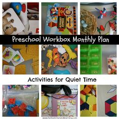 Quiet Times Activities-January Plan