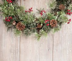 Så gör du en julkrans till dörren (med hjälp av en springform!)