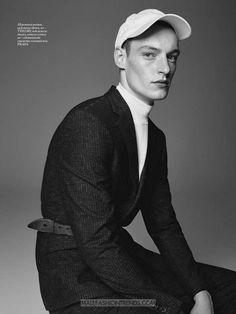 Male Fashion Trends: Roberto Sipos por Nagi Sakai para Vogue Man Ukraine