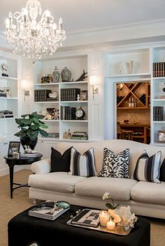 When homeowners invite guests and company into their home typically the first thing that visitors see is the living room, or family room, of the house. Unless there is a foyer before the living roo… Home Living Room, Living Room Decor, Living Spaces, Living Room Interior, Living Area, Bedroom Decor, Living Room Inspiration, Home Decor Inspiration, Decor Ideas