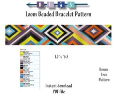 off loom beading techniques Bead Loom Bracelets, Beaded Bracelet Patterns, Jewelry Patterns, Beading Patterns, Bead Loom Designs, Beading Techniques, Loom Beading, Pearl Beads, Things To Sell